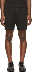 Dsquared Black And White New Fit Dan Caten Shorts