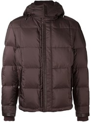 Brioni Padded Jacket Red