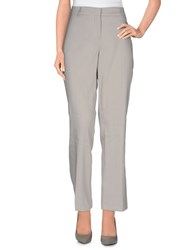 Oblique Trousers Casual Trousers Women Light Grey