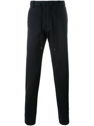 Kenzo Straight Leg Trousers Black
