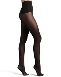 Haute Contour High Waisted Opaque Tights Black Spanx