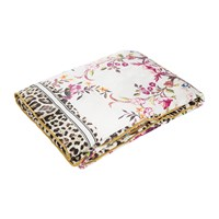 Roberto Cavalli Beethoven Silk Throw White