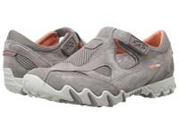 Allrounder By Mephisto Nana Grigio Suede S Mesh Women's Shoes Gray