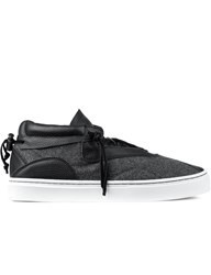 Clear Weather Grey Wool Everest Mid Top Sneakers