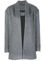 Maiyet Open Front Coat Grey