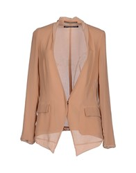 New York Industrie Suits And Jackets Blazers Women Beige