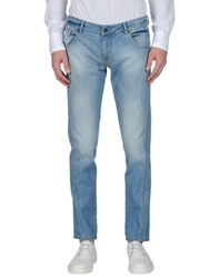 San Francisco Denim Denim Trousers Men Blue