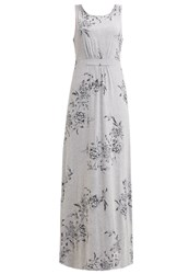 Joules Tom Joule Tansy Maxi Dress Light Grey