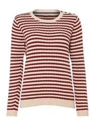 Dickins And Jones Claire Cable Knit Jumper Multi Coloured