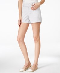 Maison Jules Maddie Seersucker Shorts Only At Macy's Grey Combo