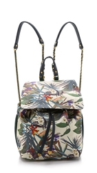 Jerome Dreyfuss Floral Print Florent Backpack Jacqueline Floral