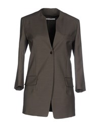 Agnona Suits And Jackets Blazers Women Military Green