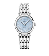 Omega Ladymatic Co Axial 34Mm Watch Unisex Silver