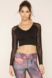 Forever 21 Active Seamless Crop Top