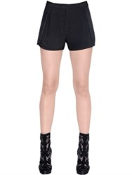 Elie Saab Stretch Crepe Shorts