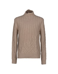 Ballantyne Turtlenecks Khaki