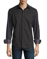 Robert Graham Classic Fit Blackpool Embroidered Classic Sport Shirt