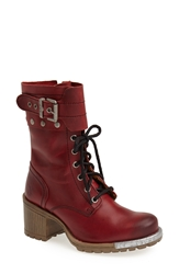 Fly London 'Lask' Boot Women Cordoba Red