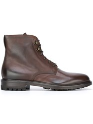 Doucal's 'Rovere' Boots Brown