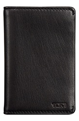 Tumi 'Chambers' Leather Card Case Black