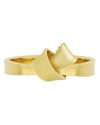 Carelle Mini Knot Ring In Yellow Gold