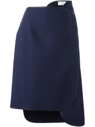 Reality Studio 'Umi' Layered Skirt Blue