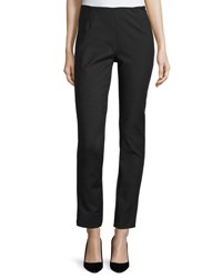 Lela Rose Catherine Stretch Twill Pants Black