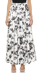 Haute Hippie Ball Gown Skirt Swan Black