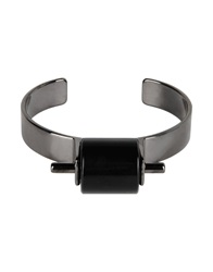 Oblique Bracelets Black