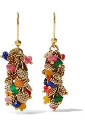 Rosantica Il Mondo Gold Tone Bead Earrings