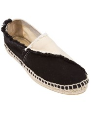 Castaner Bi Colour Espadrilles Black