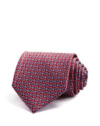 Bloomingdale's The Men's Store At Circle Florette Neat Classic Tie Red