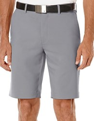 Callaway Flat Front Tech Shorts Grey