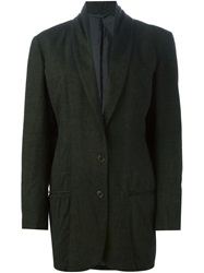 Romeo Gigli Vintage Oversize Suit Jacket Green