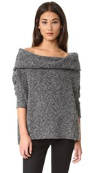 Bobi Off Shoulder Sweater