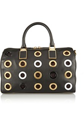 Rebecca Minkoff Gramercy Grommet Embellished Leather Tote