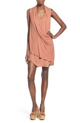 Women's Astr 'Lisa' Drape Tunic Dress