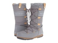 Tecnica Moon Boot Monaco Felt Grey Women's Cold Weather Boots Gray