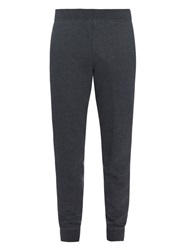 Alexander Wang Fleece Cotton Blend Jersey Track Pants
