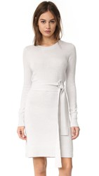 Club Monaco Remlee Tie Front Sweater Dress Downey