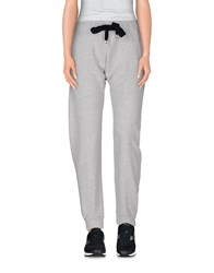 Guardaroba Trousers Casual Trousers Women Light Grey