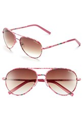 Women's Lilly Pulitzer 'Augusta' 57Mm Sunglasses Pink Floral