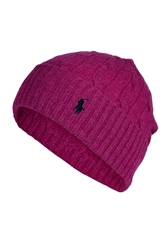 Polo Ralph Lauren Merino Wool Cashmere Cable Knit Hat