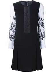 Yigal Azrouel Berry Branches Dress Black