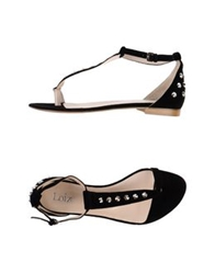 Loiza By Patrizia Pepe Thong Sandals Black