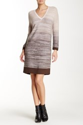 Lilla P Sweater Dress Brown