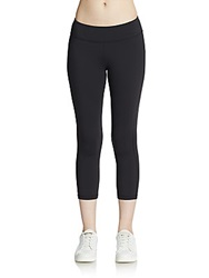 Hbc Sport Capri Performance Leggings Black