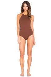Marysia Swim Mott One Piece Brown