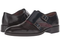 Etro Arnica Double Monk Strap Multi Men's Monkstrap Shoes