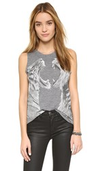 Chaser Face Off Muscle Tank Grey